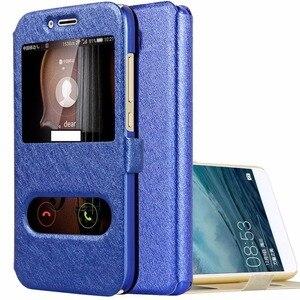 Чехол для Huawei Honor 5A, чехол для Honor 5A, кожаный флип-кейс с окошком для LYO-L21 Y6 II, компактный/Y6II-Compact LYO-L01