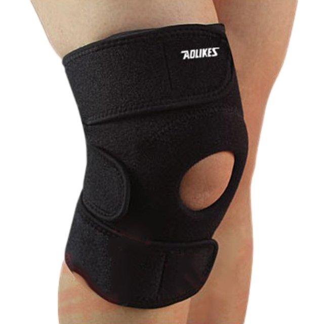 Knestøtte Adjustable Unisex Knee Pads Stabilizer Sports Outdoor