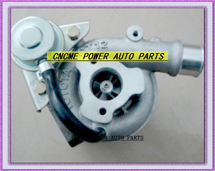 Water Cooled TURBO CT12 17201-64060 1720164060 17201 64060 Turbocharger For <font><b>TOYOTA</b></font> Camry <font><b>Engine</b></font> <font><b>3CT</b></font> 2.2L image