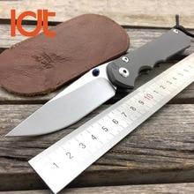 LDT Large Sebenza 25 Folding Knives Tactical Knife CPM S35VN Blade TC4 Titanium Handle Camping Survival Hunt Knives EDC Tools