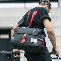 Fashion Men's Cycling Shoulder Bag Tide Casual Men's Messenger Bag Trend Dead Fly Bicycle Crossbody Bag