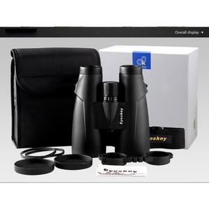 Image 5 - 10x56 Eyeskey Professional กล้องส่องทางไกลกันน้ำ Camping การล่าสัตว์ที่มีประสิทธิภาพกล้องส่องทางไกลกล้องโทรทรรศน์ Bak4 Prism Optics พร้อมสายคล้องคอ