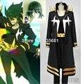 + Парик потому косплей убить ла убить Uzu Sanageyama косплей костюм комплект одежды черный и золотой окончательная форма женщины-star Goku равномерное