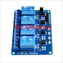 Brand New 5V 4 Channel Relay Module for Arduino PIC ARM DSP AVR Raspberry Pi