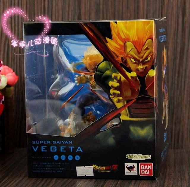 Super Saiyan Vegeta Dragon Ball Z PVC Action Figures Anime Figure Birthday Gifts Dragonball