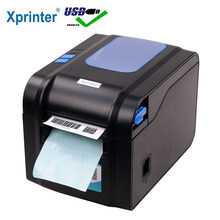 Xprinter Label Barcode Printer Penerimaan Termal Printer Bar Code Printer 20 Mm-80 Mm dengan Auto Stipping XP-370B(China)