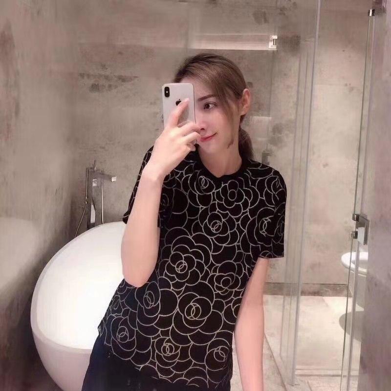 Haut D02607 T Femme Pour 2019 Marque Design Partie Style shirts Noir Européenne Femmes De Mode Luxe Vêtements Piste amp; dxTAAR