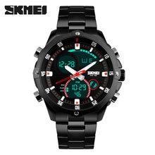 Top Men Watches Luxury Brand Men's Quartz-Watch Analog Digital LED Sport Watch Men Army Military Wrist Watch Relogio Masculino