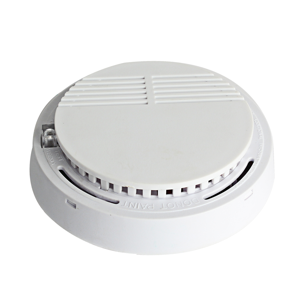 NEW  Independent Smoke Alarm Sensor Smoke Detector Fire Alarm Detector For Home Office Security Photoelectric Smoke Alarm