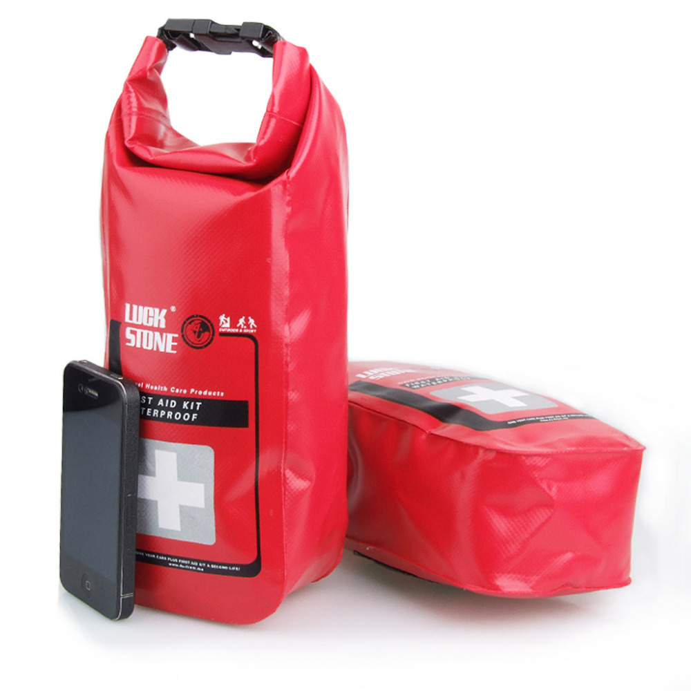 New Portable Medical Bag 2L Waterproof First Aid Bag Emergency Kits Outdoor First Aid Kit Red Color Hot Sale multilayer pockets portable outdoor first aid kit waterproof eva bag for emergency medical treatment in traveln family or car