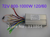 Free Shipping Universal Sensor Sensorless 72V 800 1000W 35Amax E Bike Scooter Motorcycle Brushless Speed Controller