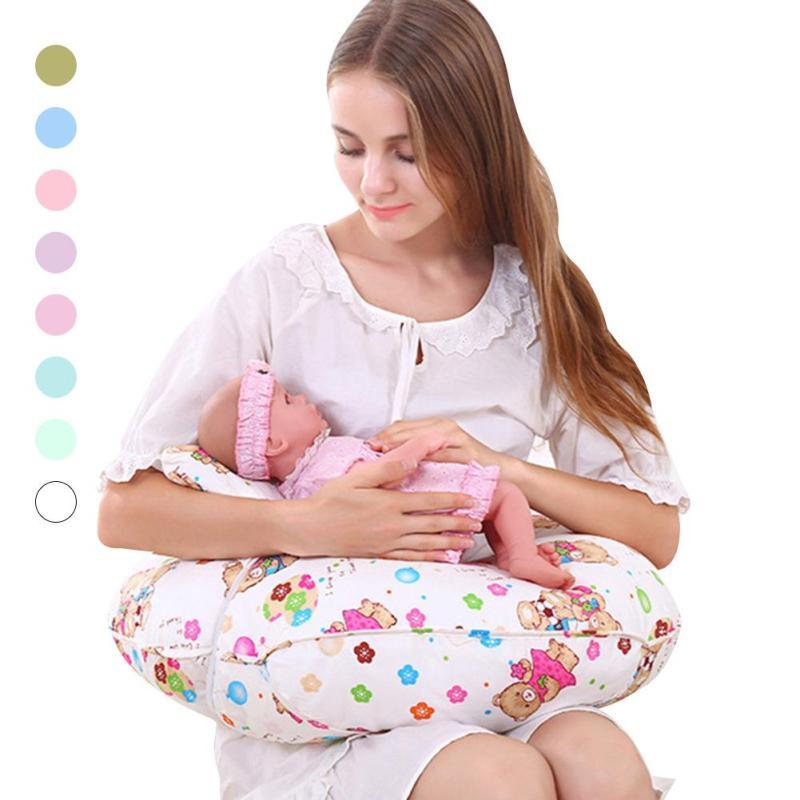 U-shape Baby Nursing Pillows Cotton Breastfeeding infant support cushion positioner Newborn baby feeding pillow for baby care D3 waist support baby nursing breastfeeding pillow soft baby learning sit pillow multi function baby pillows almofada infantil