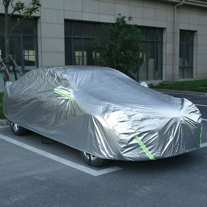 Car covers for lifan x50 x60 Haval h6 h3 h5 Geely emgrand ec7 Chery tiggo 5 byd f3 Sunshade Protection Dustproof Full Car Cover zoom xyh 5 съемный микрофон для h5 h6