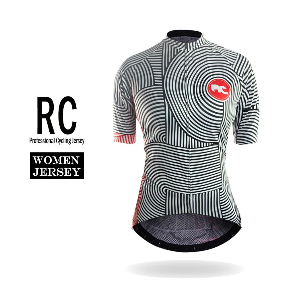 Prix pour Racmmer 2017 Femmes Vélo Jersey D'été Vtt Vélo Court Clothing Ropa Maillot Ciclismo Sportwear Vélo Vêtements # WS-03