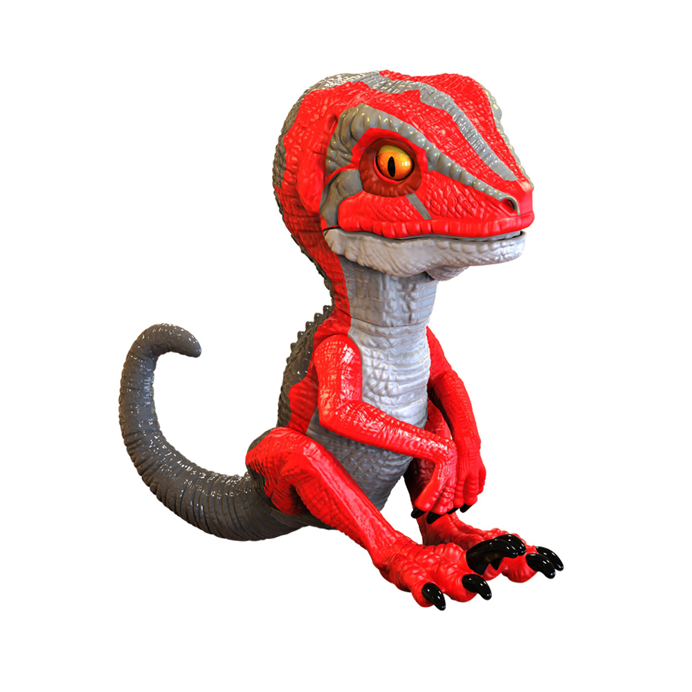 Educational Dinosaur Toys , Untamed Raptor by Fingerlings , Interactive Collectible Dinosaur for Cool Kids and Toddler Education untamed raptor by fingerlings interactive collectible dinosaur for children gift toys