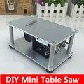 Micro máquina de corte de serra de mesa mini serras 775 DIY do motor Ferramenta de velocidade ajustável