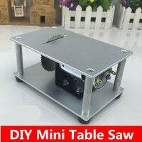 Micro Table Saw Mini Saws Cutting Machine 775 Motor DIY Tool Speed Adjustable Free Shipping