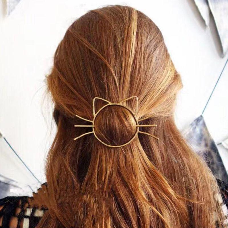 Cute Cat Hairpin 5