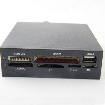 Etmakit, gran calidad, chasis de escritorio, lector de tarjetas integrado, lector de tarjetas multifunción de 3,5 pulgadas