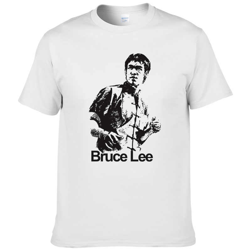 6a540ebb37e Detail Feedback Questions about 2017 New Fashion Summer Style Chinese Kung  Fu Bruce Lee Printed Cotton T Shirt Men High Quality Short Sleeve Casual  Tshirts ...