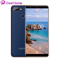 OUKITEL C11 Pro Mobile Phone 5.5 18:9 MTK6739 Quad Core 3G RAM 16G ROM 8MP+2MP/2MP Fingerprint Android 8.1 4G LTE Smartphone