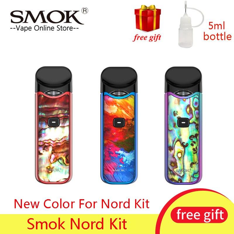 Le plus nouveau Kit de démarreur de cosse de Smok Nord de Vape 1100mAh 3ML bobine de maille de cartouche adaptée au Kit de Vape de cosse de Cigarette électronique de bobine du Nord vs Novo