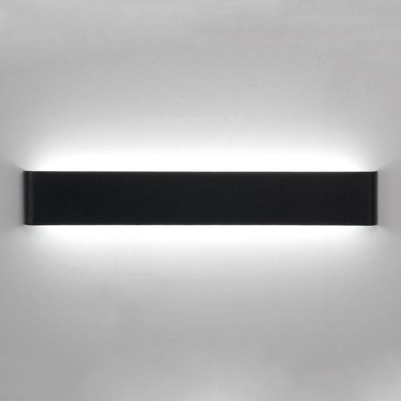 Sodobne minimalistične stenske svetilke LED aluminijaste spalne - Notranja razsvetljava - Fotografija 4