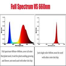 100W LED Grow chip ,60pcs x 3w bridgelux ,full spectrum 380nm-840nm led grow lights for hydroponics ,DIY Led grow light