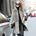 Brand Besty Soft Women Real Natural Full Whole Pelt Sheepskin Coat Waistcoat with real natural mink fur collar or shawls