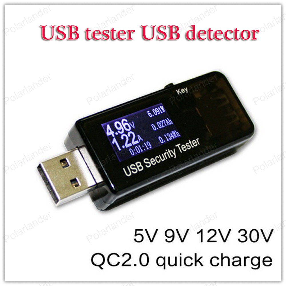 USB Load Resistors Mobile Power Module LCD USB Voltage Current Tester Monitor