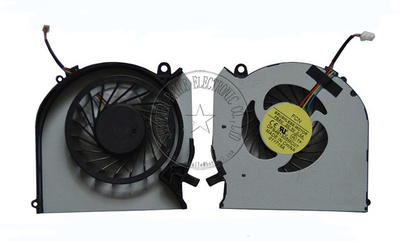NEW cpu cooling fan for HP Pavilion DV6 DV6-7000 DV6T-7000 DV7 DV7-7000 FAN P/N: DFS481305MC0T MF75090V1-C100-S9A 682061-001 cute girls purple long tutus dress kids handmade fluffy tulle princess dress with flower satin bow children party tutus 1pcs