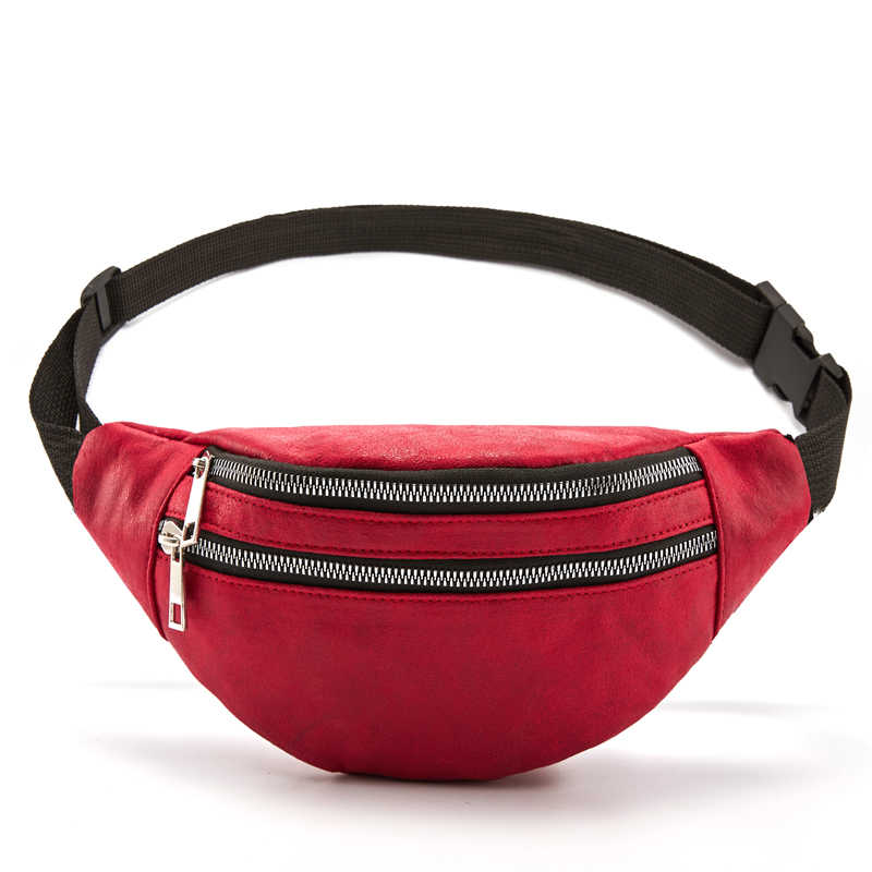DAUNAVIA ファニーパックウエストバッグ旅行ベルト胸電話ファッション女性火傷バッグダブルジッパー大容量 heuptas
