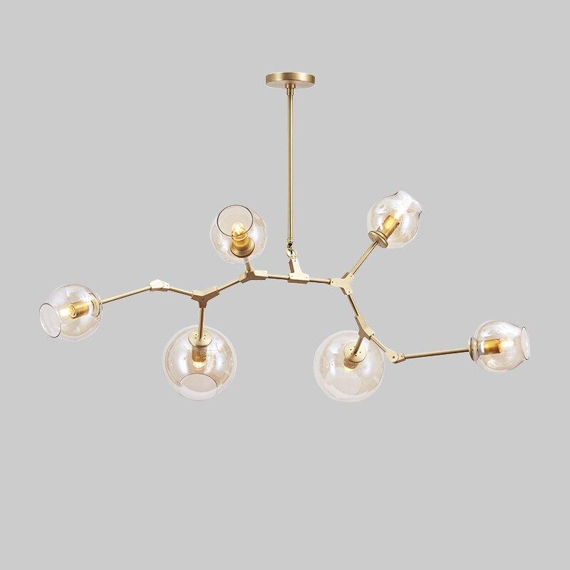 Vintage magie hängen licht stilvolle kugel ball industrie LOFT Eisen droplight Schwarz Gold baum klassische moderne LED anhänger lampe