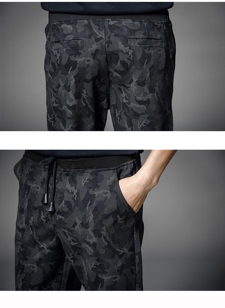 T-Bird 17 New Pattern Casual Men s Pants Cool Fashion Camouflage Slim Spring Style Pencil Pants Hip Hop Trousers Men M-5XL LXS 11
