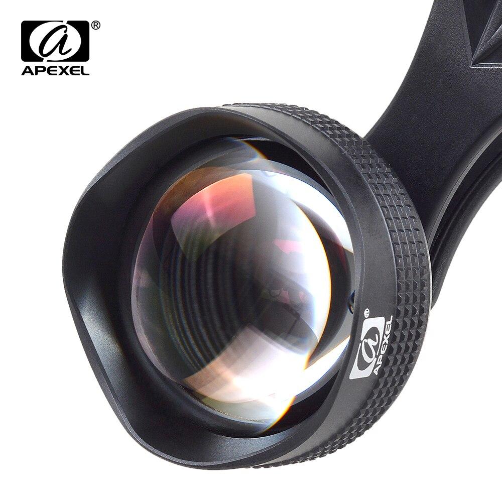 imágenes para APEXEL 3X HD 85 MM Lente Del Telescopio de Alta Calidad Profesional Retrato de la Lente para el iphone 6/6 S 7 más Samsung s7 borde
