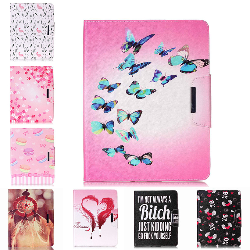 Painted Flip PU Leather Case For Apple iPad 4/3/2 9.7 inch Back Covers Flowers smart Card Slots wallet tablet Shell Capa Housing shelley selections from the poems of percy bysshe shelley