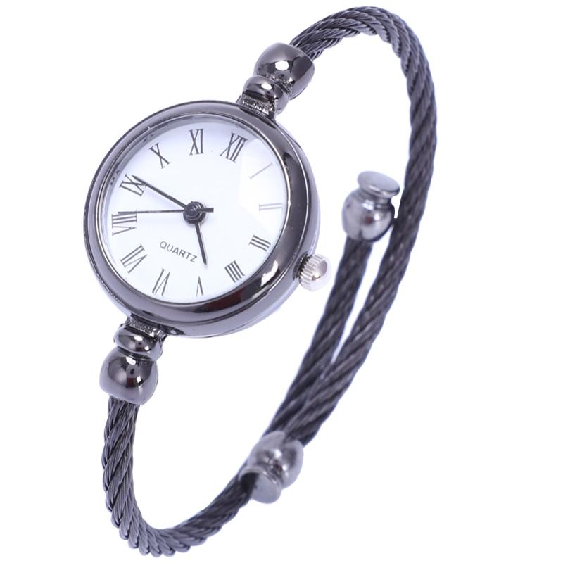 Ulzzang Women'S Fashion Diamond Bracelet Watches Stylish Quartz Watch Women Woman Clock(China)
