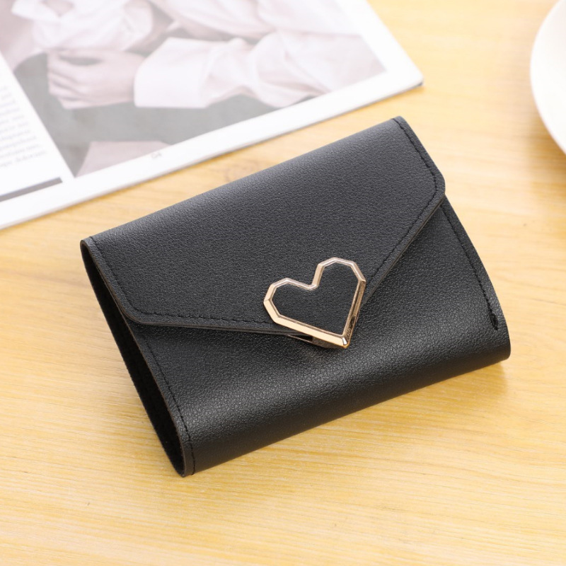 PipiFren Womens Wallets heart And Purses Small Ladies Short Wallet portefeuille femme monederos para mujer