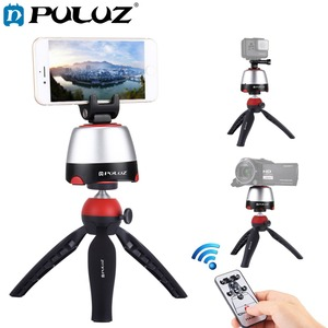Image 1 - PULUZ Electronic Tripod 360 Degree Rotating Panoramic Tripod Head w/h Remote Controller For GoPro Iphone Smartphone DSLR Cameras