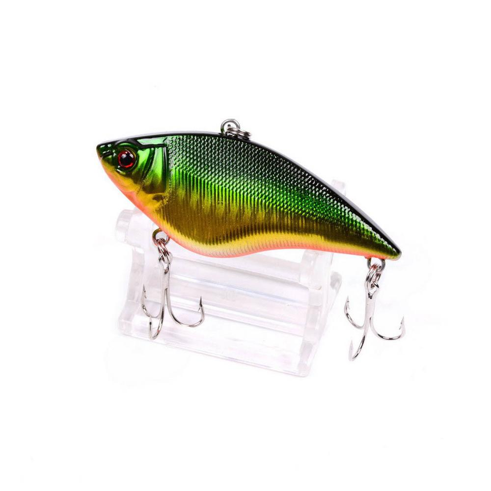 1PCS 7cm 16g Wobbler Fishing Lures Rattlin Hook Hard Artificial Plastic VIB Bait Crankbait All Depth Winter Ice Fishing Tackle