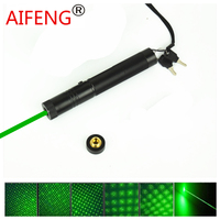 Green Laser Pen From All Over The Sky Star Stage Lamp Light Adjustable Focus Match Of