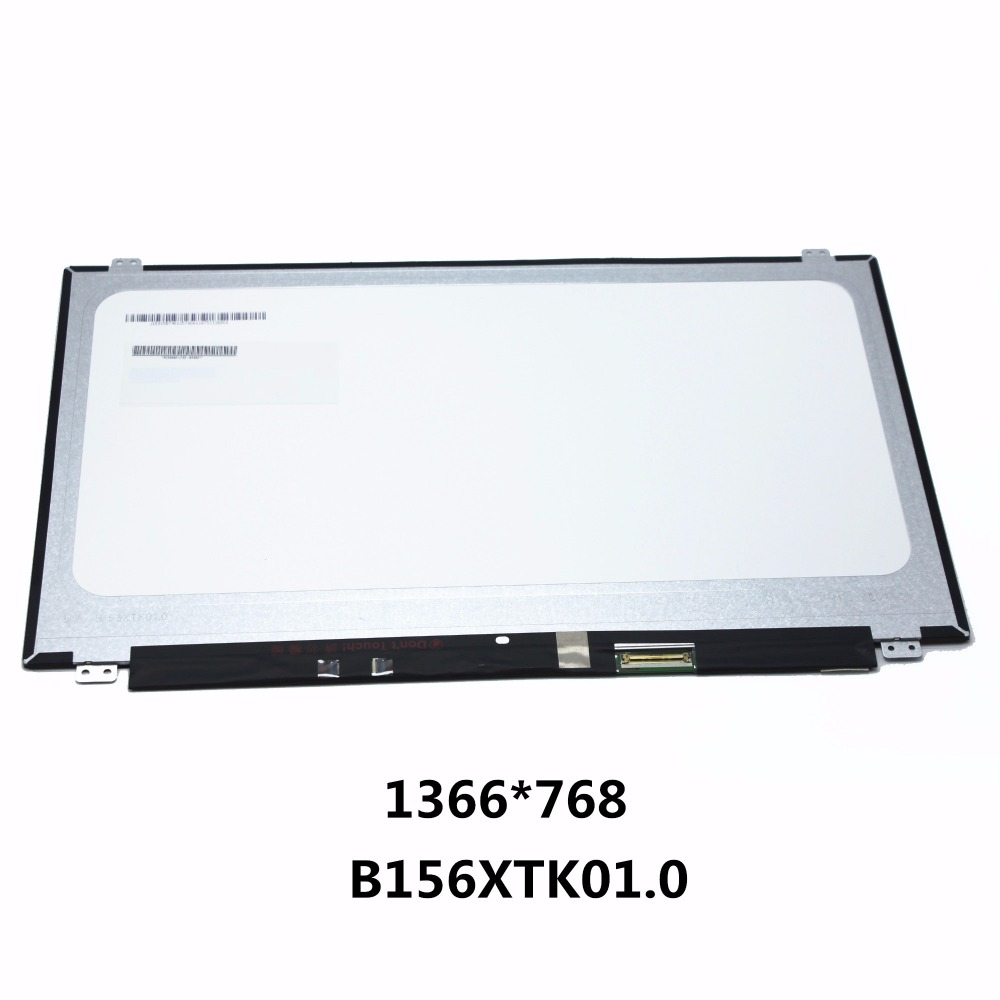 15.6'' Laptop LCD Screen Panel Touch Display Matrix For HP TouchSmart 15-AC121DX 15-F211WM B156XTK01 V.0 B156XTK01.0 1366*768 цены