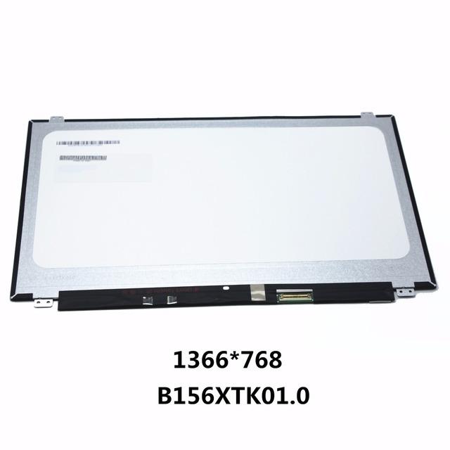 Nuevo 15.6 ''pantalla lcd portátil panel táctil pantalla de matriz para hp touchsmart 15-ac 15-ac121dx b156xtk01 v.0 b156xtk01.0 1366*768