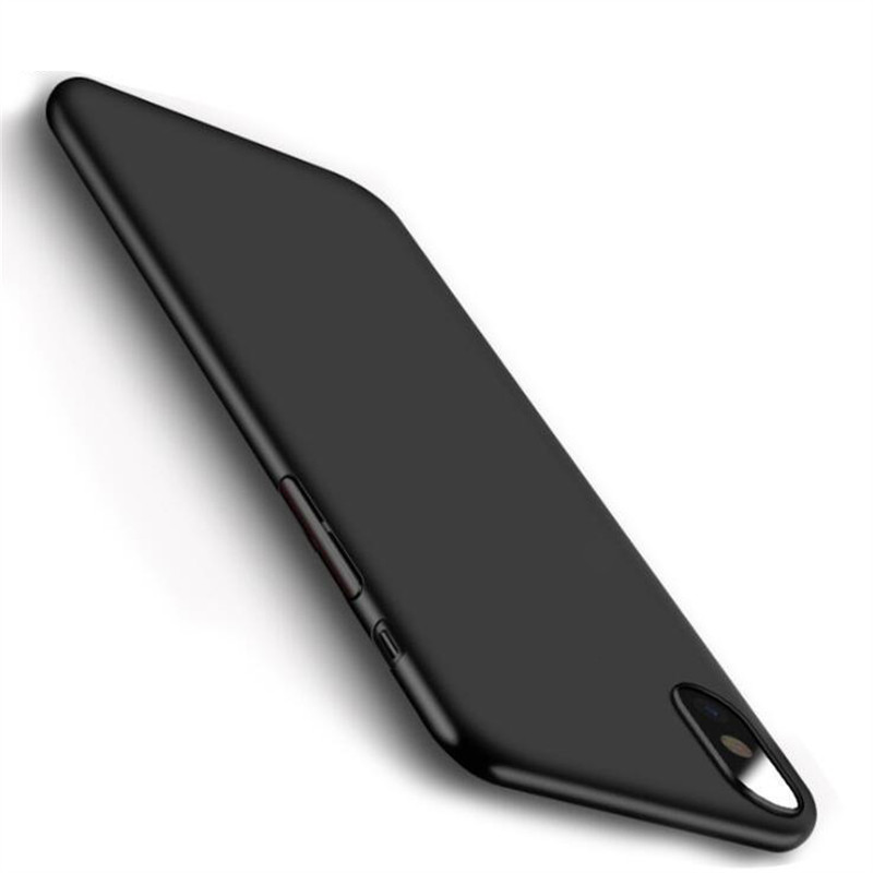KSTUCNE Silicone TPU Phone Case For iPhone 7 8 6 6s Plus X 5 5s SE XS Max XR Cover Soft Black Capa For iPhone 7 8 Phone Case iPhone 8