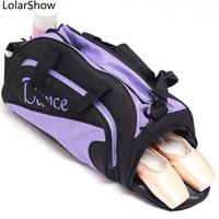 Shoulder Ballet Dance Bags Women Girls Ballet Yoga Sports Dance Bag Embroidered Gym Bags For Girl