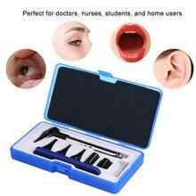Penlight Otoscopio Oftalmoscopio Set Ear & Eye & Gola Diagnostico Medico Ear Cleaner Otoscopio Attrezzature Kit Salute E Bellezza Strumento