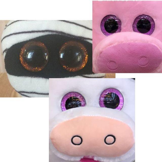 16 20 24mm 10 pcs Shinning Plástico Olhos Da Boneca Olhos de Artesanato DIY Para O Urso De Pelúcia Recheado Brinquedos Animais Fantoche bonecas Dec17