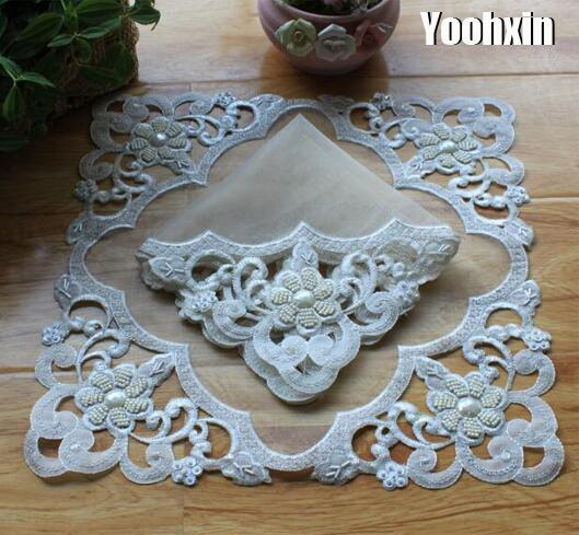Table & Sofa Linens Tablecloths Search For Flights Modern Mesh Embroidery Dish Placemat Cup Mug Tea Coffee Pan Coaster Kitchen Dining Table Place Mat Lace Doily Wedding Drink Pad