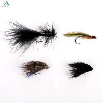 Maximumcatch 2# Fly Fishing Flies Hook Streamer Trout 8 Patterns Assortment High Quality Fishing Flies Рыбная ловля