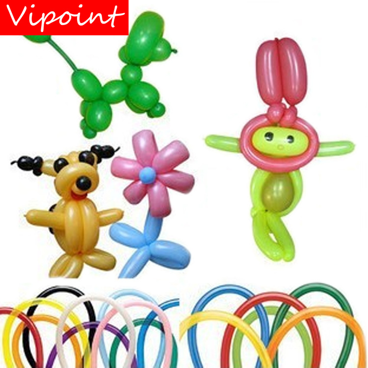 VIPOINT PARTY 200pcs strip Prepare the modelling latex balloons wedding event christmas halloween festival birthday party HY-372